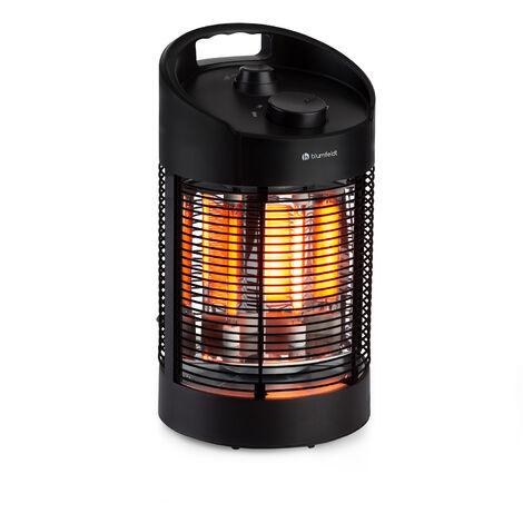 blumfeldt Heat Guru 360 Mini radiateur infrarouge 700/350 W Oscillation noir