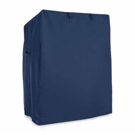 blumfeldt Hiddensee Copertura Protettiva per Poltrona da Spiaggia 115x160x90 cm Impermeabile Blu