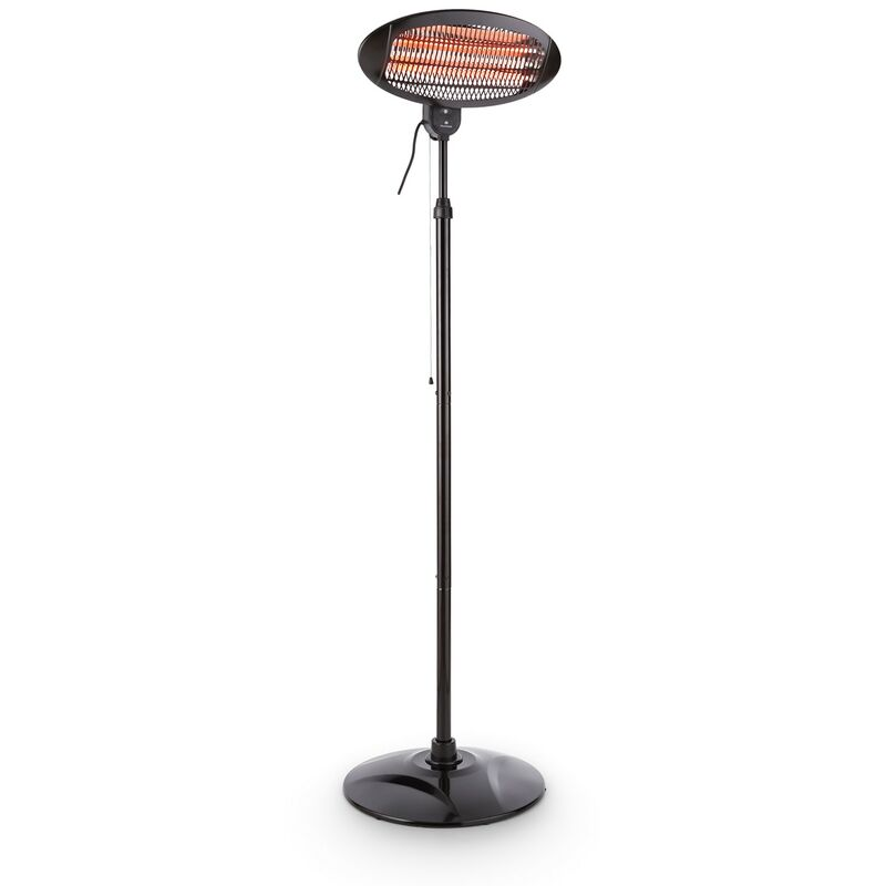 blumfeldt Hot Roddy radiateur infrarouge de terrasse IP34 650/1300/2000W noir