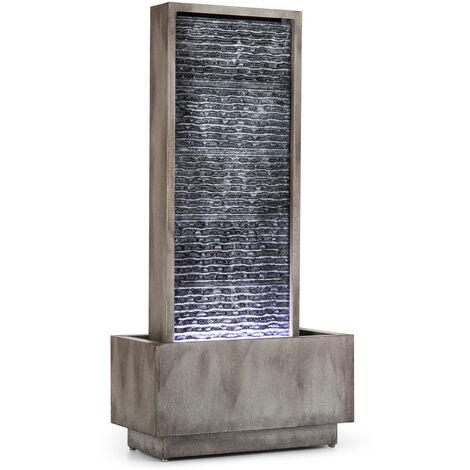 Blumfeldt Imperia Fontaine décorative de jardin ou extérieur pompe 10W câble 10m