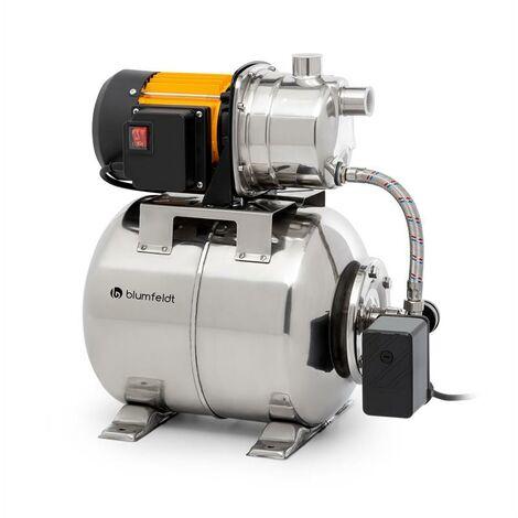 Blumfeldt Liquidflow 1200 INOX Pro pompe de jardin surpresseur 1200 watts 3500 l/h