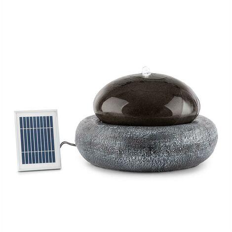 blumfeldt Ocean Planet Fuente solar 200l/h Panel solar 2W Batería LED Poliresina