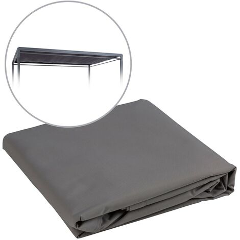 Blumfeldt Senator Replacement Roof Sun Protection Polyester Waterproof Grey