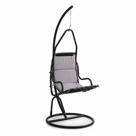 Blumfeldt Serramazzoni EggChair sillón colgante tapizado gris