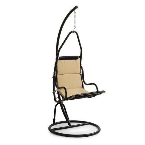 Blumfeldt Serramazzoni EggChair sillón colgante tapizado marrón