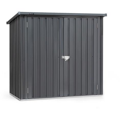 blumfeldt Solid Storage 2 Remise outils de jardinage tôle d acier porte double