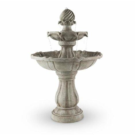 Blumfeldt Springbrunnen fontaine à oiseaux 60x90cm 3W batterie solaire