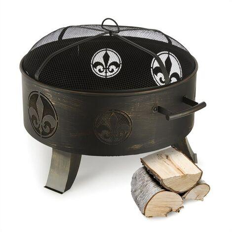 "main image of ""Blumfeldt Versailles Fire Bowl Fire Pit"""