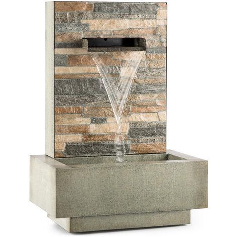 blumfeldt Watergate Fontaine de jardin intérieur / extérieur Pompe 15W Câble 10m