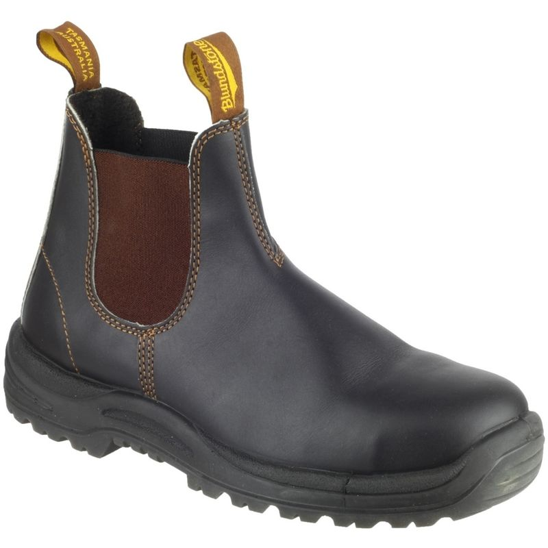 Image of Blundstone 192 Mens Industrial Safety Boot (4 UK) (Brown)