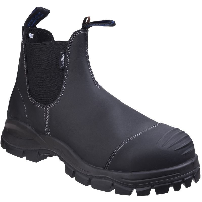 Image of Blundstone Unisex Adults Dealer Boots (10 UK) (Black)