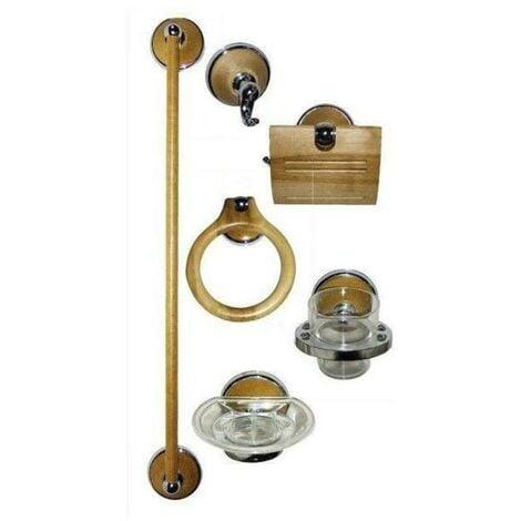 """main image of """"BLUNGI accesorios baño abedul 6 piezas juego"""""""