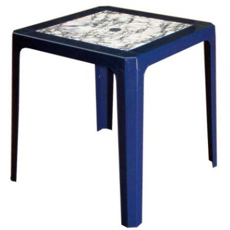 BLUNGI mesa apilable 70x70 cm 4025 azul marmol