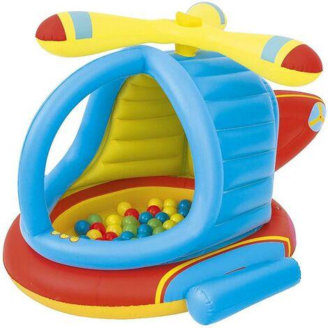 BLUNGI piscina bolas helicoptero 140x127x89 cm 52217
