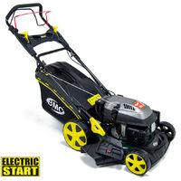"BMC 18"" Racer Electric Start Self Propelled Petrol Lawn Mower"