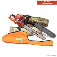 BMC 20'' Easy Start 55cc Chainsaw with Storage / Carry Bag