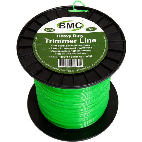 BMC 262 Metre Trimmer Line Spool 2.4mm Dia.