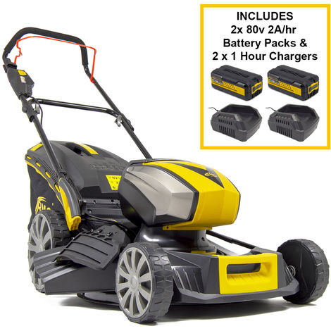 BMC 80V Concorde Cordless Lawn Mower Super Pack