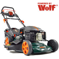 "BMC Lawn Racer 18"" Electric Start Self Propelled Petrol Lawn Mower"