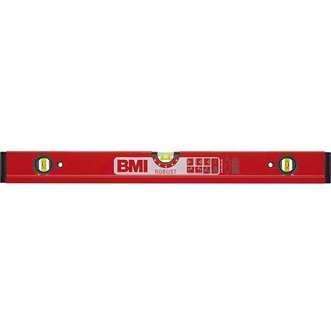 """BMI Wasserwaage aus Leichtmetall """"ROBUST"""", durchgehendes Profil, Länge 1800 mm"""