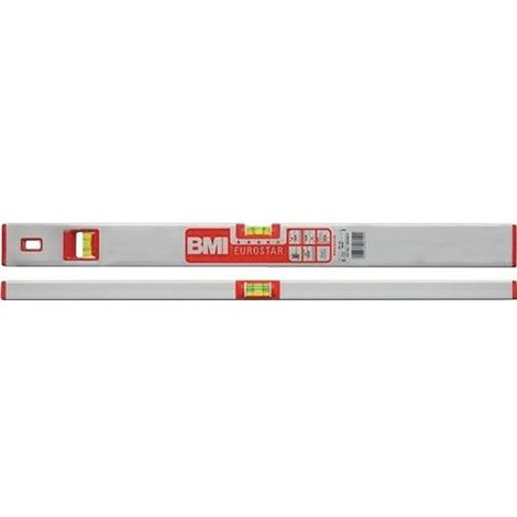 BMI Wasserwaage EUROSTAR 180cm Aluminium