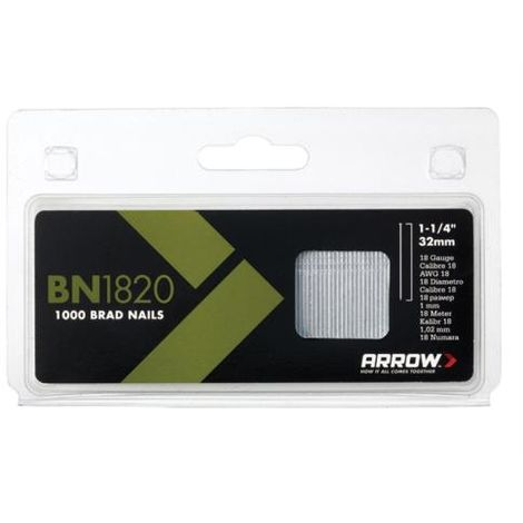 BN1820 Brad Nails Box 2000 32mm