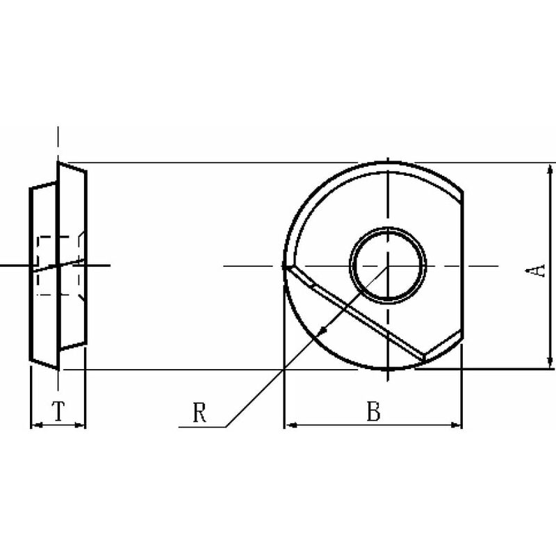 Image of BNM-200 Insert Grade JC5015 (JC8015) - Dijet