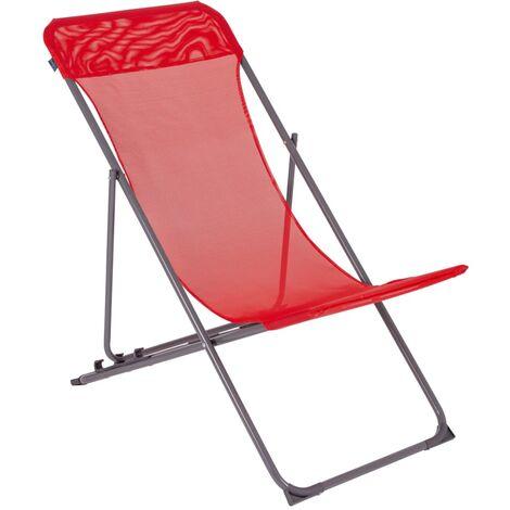 Bo-Camp Beach Chair Penco Red