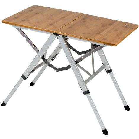 Bo-Camp Folding Camping Table Richmond 70x40 cm Bamboo