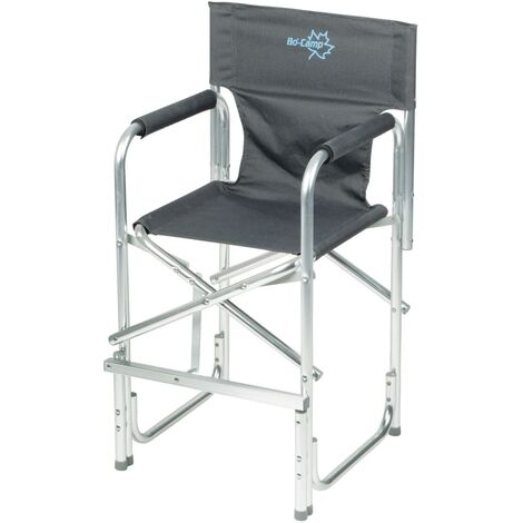 Bo-Camp Folding High Chair Anthracite