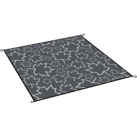 Bo-Camp Outdoor Rug LeevZ Chill Mat Dove 2.7x3.5 m Grey