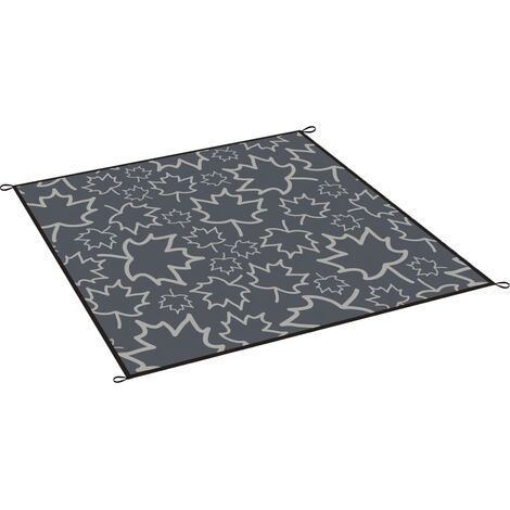 Bo-Camp Outdoor Rug LeevZ Chill Mat Dove 2x1.8 m Grey