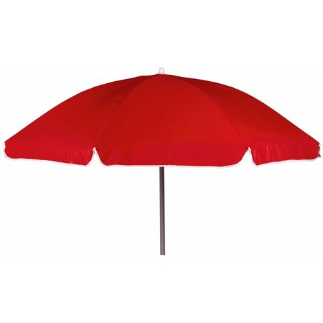 Bo-Camp Parasol 200 cm Red - Red