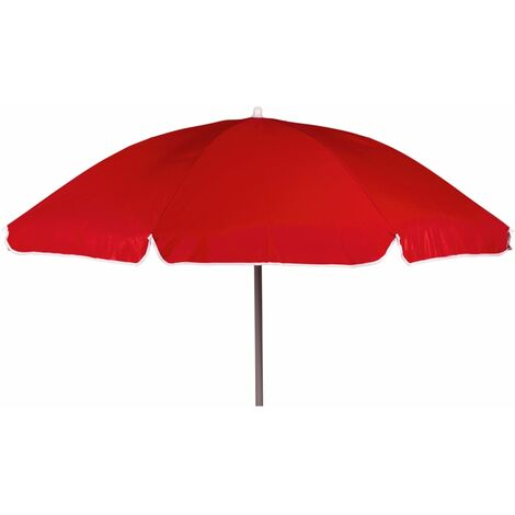 Bo-Camp Parasol Beach 160 cm Red - Red