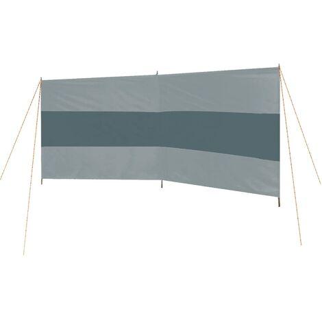Bo-Camp Paravientos de camping Popular gris y gris antracita 335x120cm