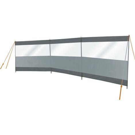Bo-Camp Paravientos de camping Season gris y antracita 500x140 cm