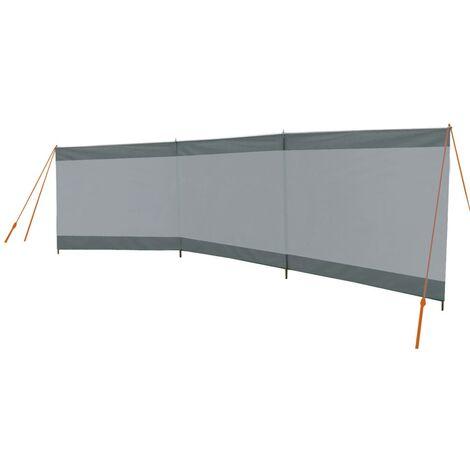 Bo-Camp Paravientos Season gris y antracita 500x140 cm
