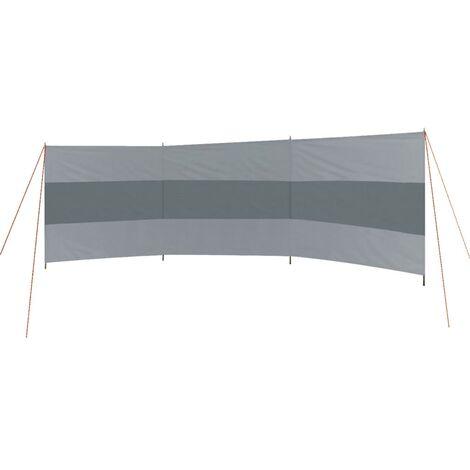 Bo-Camp Paravientos travesaños superiores Popular antracita 500x140 cm