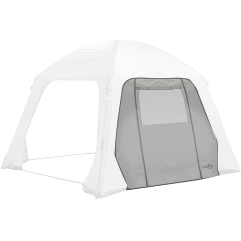 Bo-Camp Side Wall with Door and Window for Tent Air Gazebo Grey - Grey