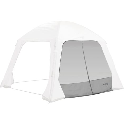 Bo-Camp Side Wall with Mosquito Mesh for Tent Air Gazebo Grey - Grey