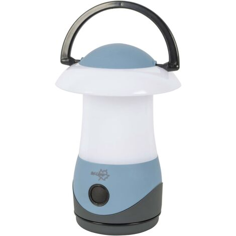 Bo-Camp Table Lantern Cygnus Blue LED