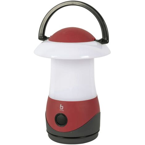 Bo-Camp Table Lantern Cygnus Red LED