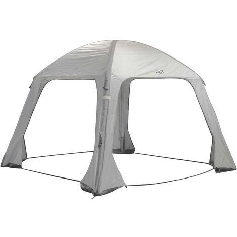 Bo-Camp Tente de réception gonflable Air Gazebo 365x365 cm Gris