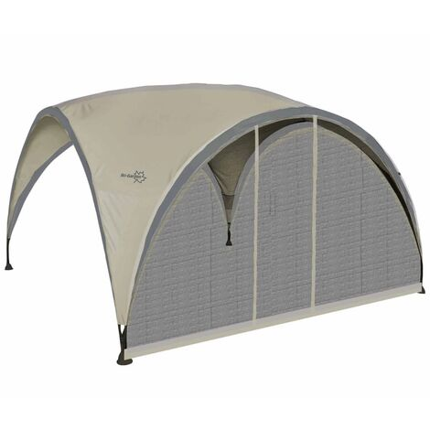Bo-Garden Insect Screen Sidewall with Door for Party Shelter Small Beige