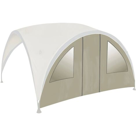 Bo-Garden Side Wall with Door for Party Shelter Large Beige 4472220 - Beige