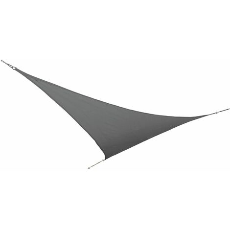 Bo-Garden Sonnensegel Dreieck Anthrazit 3,6×3,6×3,6 m 4471441
