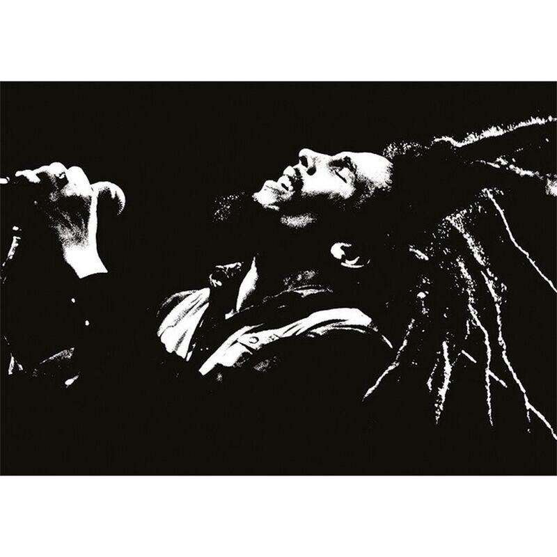 Image of Bob Marley Postcard (A6) (Black/White)
