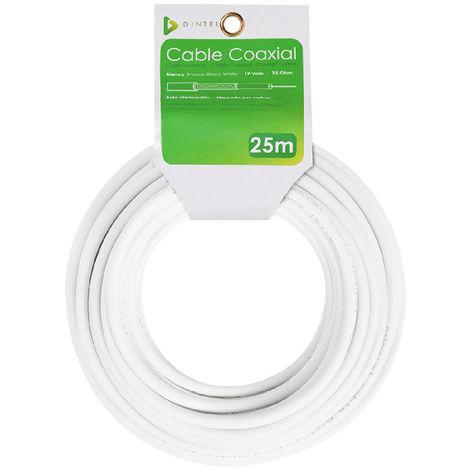 Bobina Cable Coaxial 25m Dintel