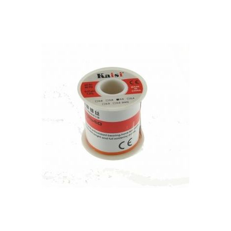 Bobina de estaño 0,5mm 150 gr