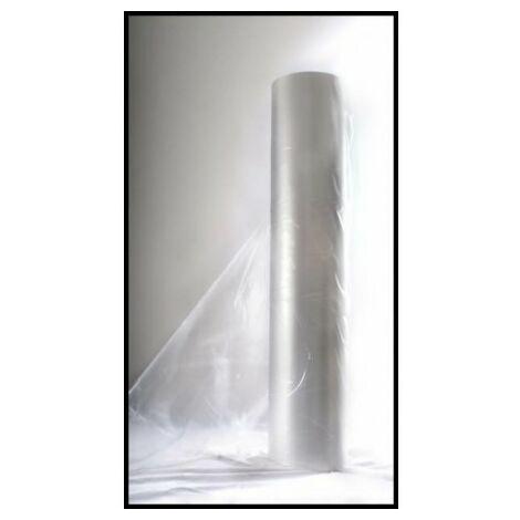 Bobina film polietileno transparente 6 m G/800 -Largo 50 m.l.-
